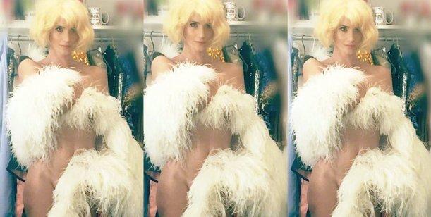 La ex de Suar se puso las plumas