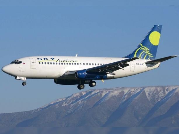 SKY dice que tendrá vuelos de Mendoza a Chile a 16 dólares