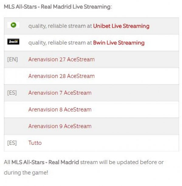 La página para ver todos partidos de fútbol gratis - 24CON