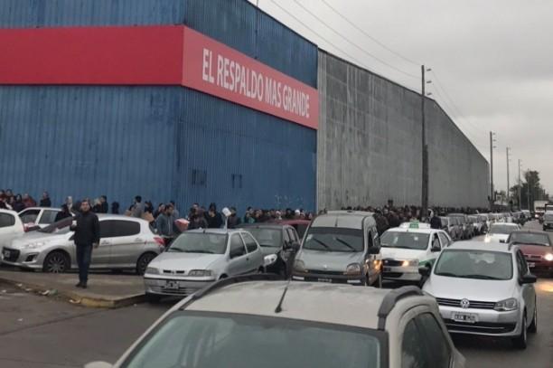 Furor por las compras en supermercados con el beneficio del Banco Provincia