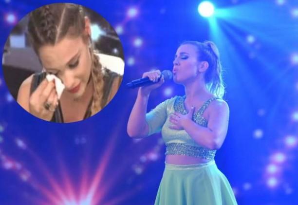 MOMENTO BAJÓN Laura Esquivel hizo llorar a todos en ShowMatch