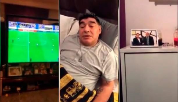 Maradona volvió a Instagram con críticas a River ya la Selección Argentina