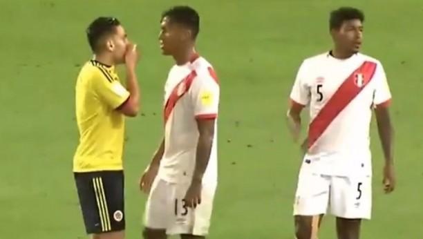 Falcao habría negociado el empate con Perú