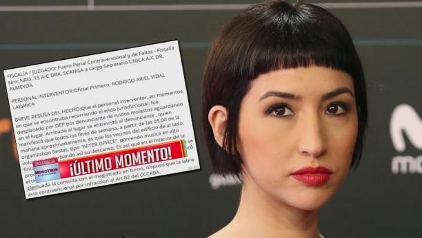 Sofía Gala fue denunciada por un vecino