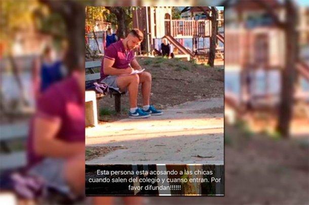Un hombre grababa a colegialas y subía los videos a YouTube — Acosador