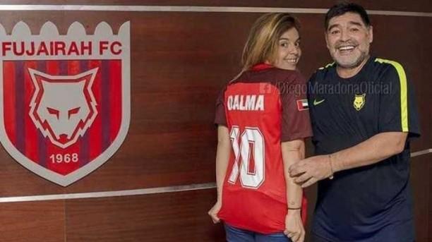"""Sí, quiere: Dalma confirmó que Diego Maradona estará en su boda"""""""