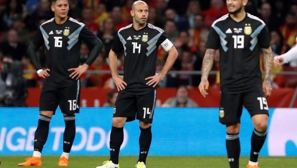 Así informaron los medios argentinos tras la goleada de España