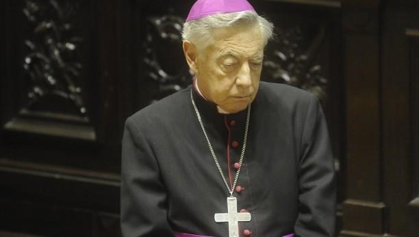 Monseñor Aguer renunciará al Arzobispado el 24 de mayo