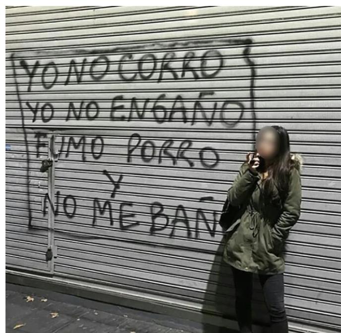 No Me Baño La Frase Que Tomó Por Asalto Las Paredes