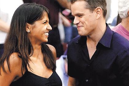 Como se conocieron matt damon y su mujer [PUNIQRANDLINE-(au-dating-names.txt) 48