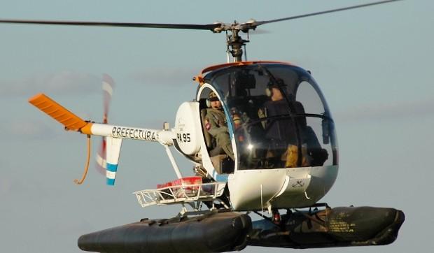 Helicoptero Schweizer 300 el Helicóptero es un Schweizer
